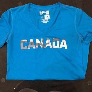 Blue Adidas Canada T-Shirt